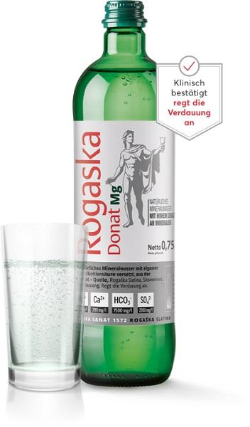 Warum Donat Mg Natürliches Mineralwasser trinken?